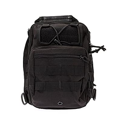FAMI Outdoor Tactical Shoulder Backpack, Military & Sport Bag Pack Daypack for Camping, Hiking, Trekking, Rover Sling