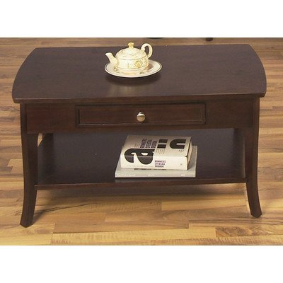 Contemporary Style, Rectangular Coffee Table Is Made of Solid Wood Comes in Espresso Finish, It Is Very Strong, Sturdy, and Stylish Is Great Addition to Your Home