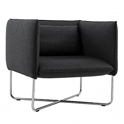 Groove Armchair anthracite/felt fabric 610