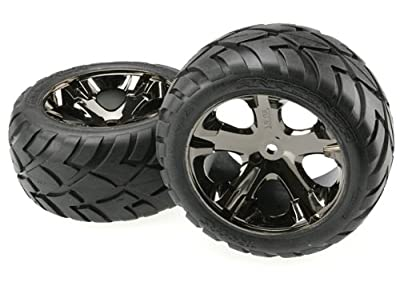 Traxxas 3773A All-Star Anaconda Tire, Black Chrome