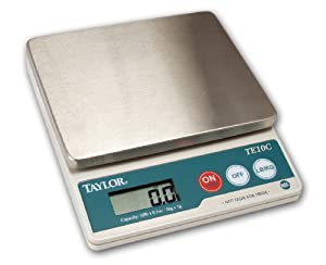 Taylor Food Service  Pound Stainless Steel Digital Scale