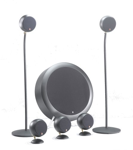 Surround Sound Home Theater System Compact design right speakers