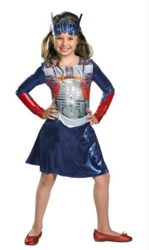 Costumes For All Occasions DG28518M Transformers Optimus Girl 3-4