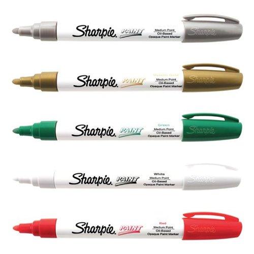 sharpie-medium-point-oil-based-christmas-paint-marker-5-pack-kit
