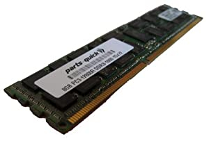 8GB DDR3 Memory Upgrade for Dell PowerEdge T320 Server PC3-12800 ECC Registered DIMM 240 pin 1600MHz RAM (PARTS-QUICK BRAND)