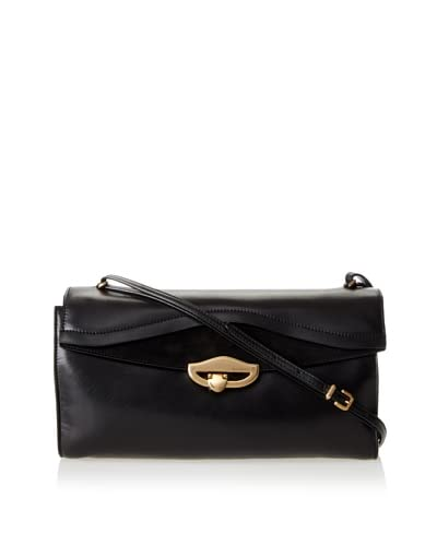 Nina Ricci Women's Mon Amour Pouchette with Removable Shoulder Strap, Black As You See