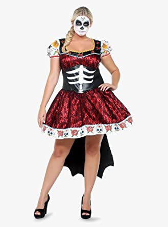 Leg Avenue - Skull & Roses Costume Dress