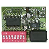 433 MHz Receiver-Decoder Module with Dip Switch