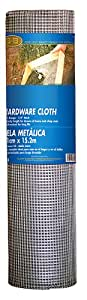 Mat Midwest 308239A Air Tech 48-Inch-by-50-Foot 1/4-by-1/4-Inch Mesh 23-Gauge Hardware Cloth