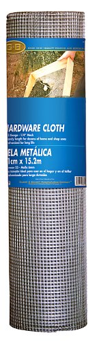 Mat Midwest 308239A Air Tech 48-Inch-by-50-Foot 1/4-by-1/4-Inch Mesh 23-Gauge Hardware Cloth (Hardware Cloth 1 4 compare prices)