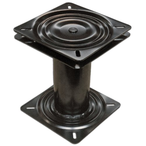 """Marine Fixed Height Seat Base Pedestal 8"""" with 360º Swivel for Boat- Five Oceans"""