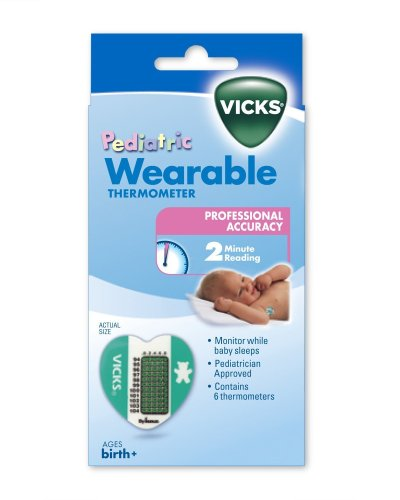 Imagen de Vicks Wearable termómetros, termómetros 6