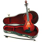 Miniature Violin: Large, 8 inches