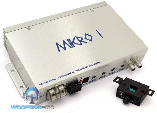 Mikro I - Zed Audio Monoblock 300W Rms Advanced Class D Design Amplifier