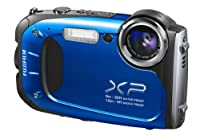 Fujifilm FinePix XP65 Waterproof 16.4MP Digital Camera HD Video Movies 3D Panorama (Blue) by FUJIFILM