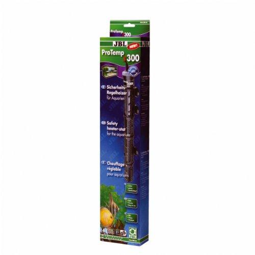 JBL Heizung für Aquarien, 300W Sicherheits-Regelheizer mit Schutzkorb, ProTemp S 300, 60426