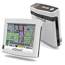 Konaki KO-GPS1 GPS with 3.5-Inch TFT Touch Screen & A/V player