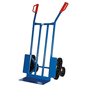 TreppenSackkarre, 250 KG blau, 108x53x55 cm   Überprüfung und Beschreibung