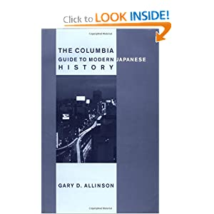 The Columbia Guide to Modern Japanese History Gary D. Allinson