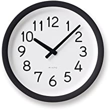 Lemnos Day To Day Clock ブラウン PIL12-10 BW