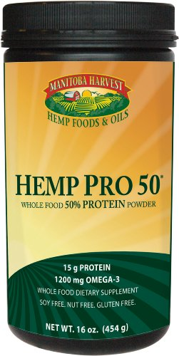 Manitoba Harvest Hemp Protein Powder 16 oz.