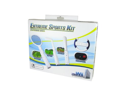Wii 4-in-1 Extreme Sports Kit