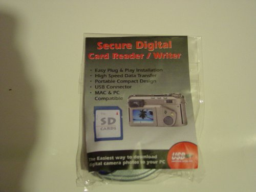 Secure Digital Card Reader / Writer - The Easiest 