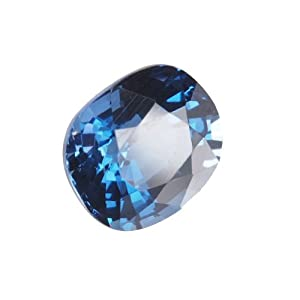 Light Blue Oval Sapphire Unset Loose Gem Over 4 Carats Lab