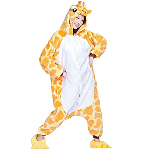 Happy-Cherry-Adulte-Unisex-Costume-Pyjama-Ensemble-Combinaison-Dguisement-Animal-PolaireSlipper-Dguisement-Animal-Figure-Chaussons