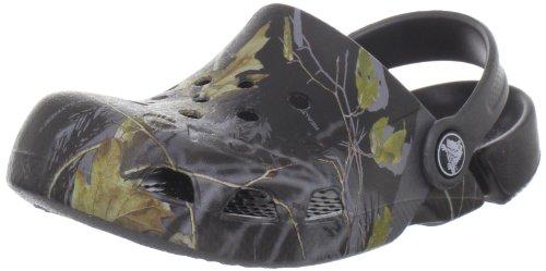 Crocs - - Electro Kids Realtree APC Kids Unisex: Schuhe, EUR: 22-23, Graphite/Black