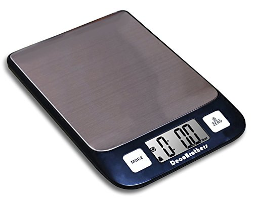 DecoBros Digital Multifunction Kitchen And Food Scale, 11lb Capacity By 0.1oz