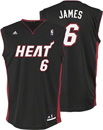NBA Miami Heat LeBron James Road Replica Youth Jersey by adidas