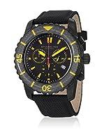 Stuhrling Original Reloj de cuarzo Man Felucca Negro 45 mm