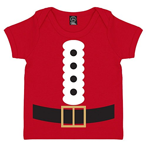 Batch1 Baby Boys' Santa Claus Costume Father Christmas Envelope T-Shirt