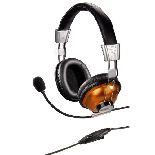 Hama PC Headset HS 300 Gold Stereo