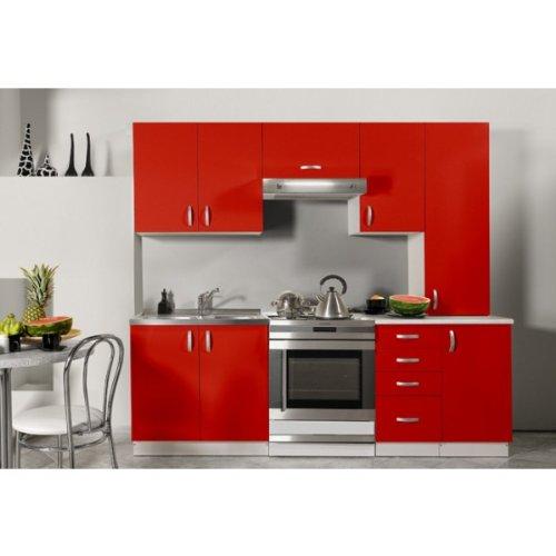 Element de cuisine les bons plans de micromonde for Cuisine complete rouge