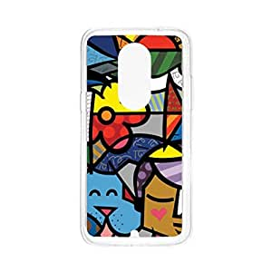 a AND b Designer Printed Mobile Back Cover / Back Case For Motorola Moto X (2nd Gen) (Moto _X2_2631)