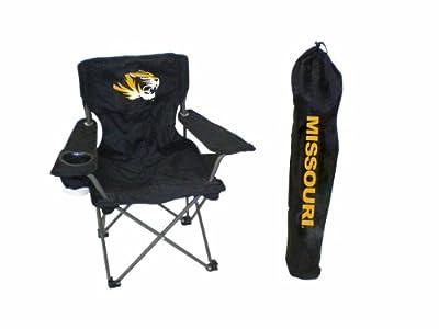Rivalry NCAA College Team Logo Design Missouri Junior Tailgate Chair