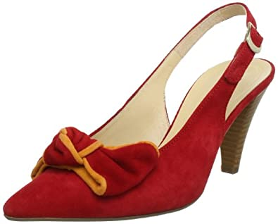Gabor Shoes Womens Gabor Slingback Red Rot (rosso/mango) Size: 36