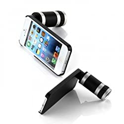 Mobilegear Portable 8X Zoom Telescope Lens for Apple iphone 5 & 5s with Back Cover