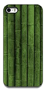 The Racoon Lean Green Bamboo hard plastic printed back case / cover for Apple Iphone 5c