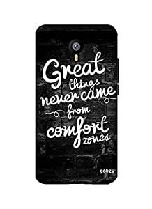 Gobzu Printed Hard Case Back Cover for Meizu M2 Note - Great Things