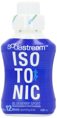 Sodastream Flavouring Syrup Isotonic Sport Blueberry 500 ml Bottle (Pack of 6)