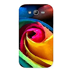 Special Rose Droplets Multicolor Back Case Cover for Galaxy Grand Neo