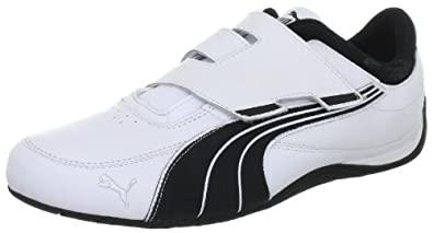 Puma Drift Cat 4 ALT CLOSURE 304195, Herren Sportive Sneakers, Weiss (white-black 01), EU 39 (UK 6) (US 7)
