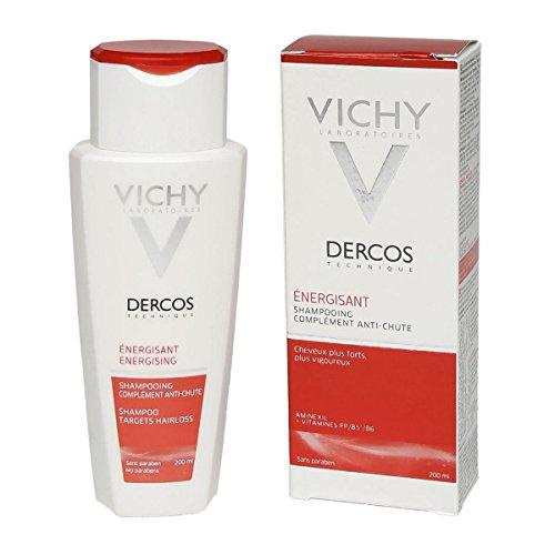 Shampoo Anticaduta E Rinforzante Per Capelli Deboli Fragili Che Si Spezzano Dercos-Tec Energizzante 200 Ml