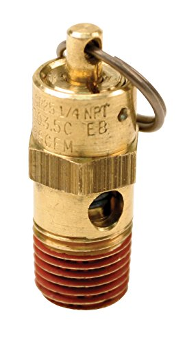 Viair 92175 175 PSI Safety Valve with 1/4