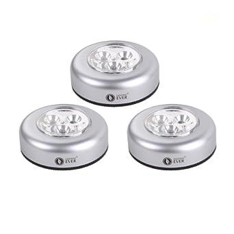 lighting ever 3 led puck light bulb battery powered tap. Black Bedroom Furniture Sets. Home Design Ideas