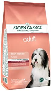 Arden Grange Adult Salmon and Rice Dog Food 12 Kg
