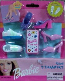 Barbie Shoe Stampers